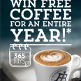 Win Free Coffee for an Entire Year